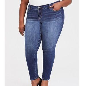 Torrid Denim Mid-Rise Skinny Jean